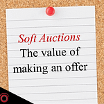 JWA Soft Auctions : the value of making an offer