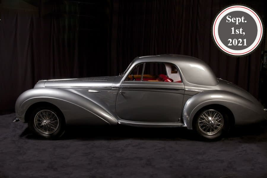 Delahaye 135MS Coupé by Chapron - - For sale in JWA Classic Soft Auctions from Sept. 1st, 2021