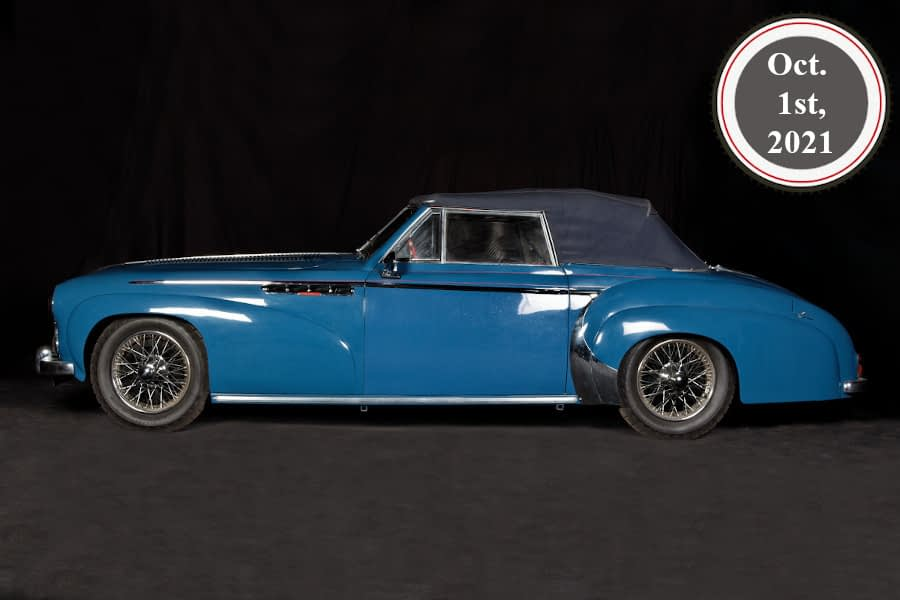Delahaye 235 Cabriolet by Chapron - For sale in JWA Classic Soft Auctions from Oct. 1st, 2021